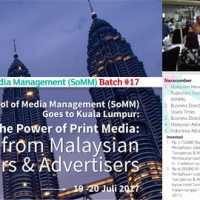 "Thumbnail for ""School of Media Management Goes to Kuala Lumpur, Rabu - Kamis, 19 - 20 Juli 2017"""