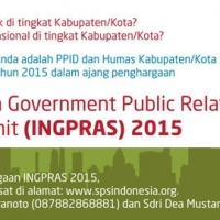 "Thumbnail for ""The 1st Indonesia Goverment Public Relations Award and Summit (INGPRAS) 2015"""
